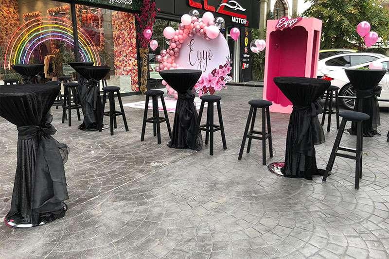 Kokteyl Masası Kiralama
